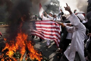 American-Flag-Burned-as-Protests-Anti-Muslim-Film-Turning-Riots