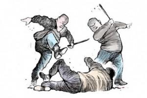 Guy Gets Beaten Up