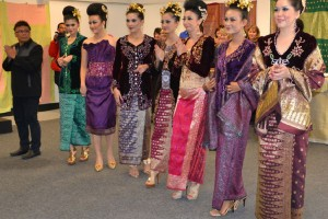 Songket Fashion Show in Palembang