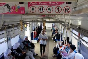 Jakarta's Ladies-Only Train