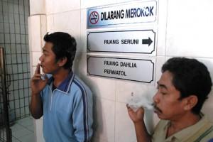 Smoking In No-Smoke Zone