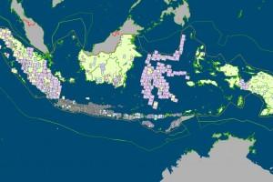 Map Geospasia Indonesia.