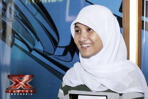 X-Factor Indonesia Contestant Fatin Shidiqia