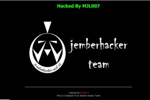 Jembar Hacker Team Deface SBY's Site
