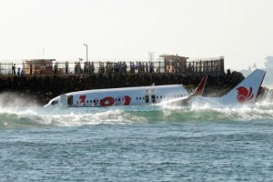 Lion Air Crashed Landing in the Water