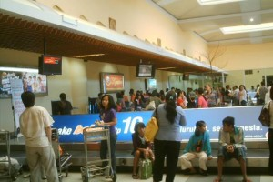 Shifting Bag in Airport