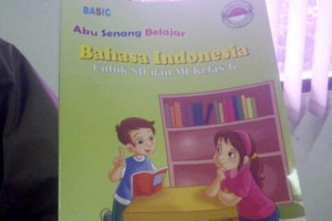 Indonesian Language Textbook with Porn Story Included