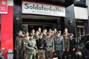 nazi cafe in Bandung, Indonesia