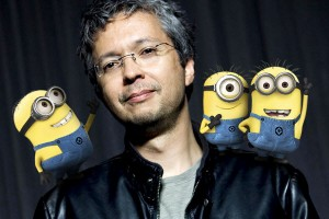 Pierre Coffin and Despicable Me minions.