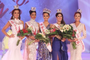 2013 Miss World winners and finalists.