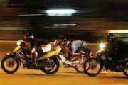 teens illegal racing