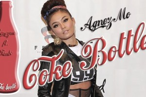 Agnez Mo Coke Bottle Cover Shoot
