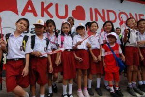Elementary Students in Jakarta