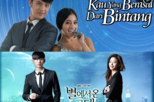 korean-tv-drama-man-from-star-plagiated-in-indonesia